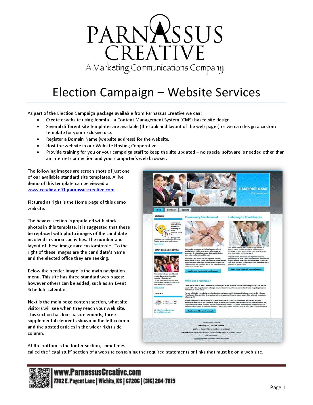 Election Campaign Packet